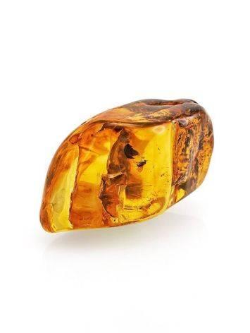Сувенир из натурального янтаря с инклюзами, фото