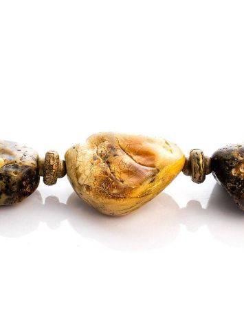 Браслет из натурального цельного янтаря «Индонезия», фото , изображение 3