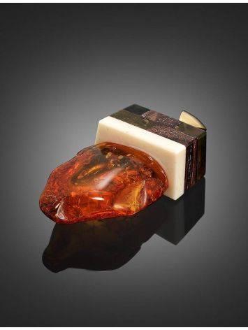 Оригинальный кулон ручной работы из натурального янтаря, кости и древесины «Индонезия», фото , изображение 2