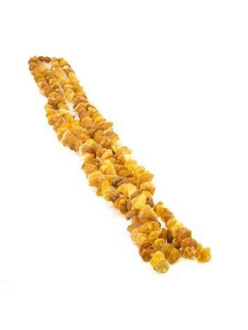 Лечебные бусы «Косичка» с двойным переплетением нитей и подвесом, фото , изображение 3