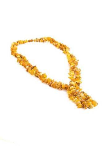 Лечебные бусы «Косичка» с двойным переплетением нитей и подвесом, фото , изображение 6