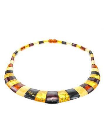 Колье из натурального балтийского янтаря «Египет», фото , изображение 6