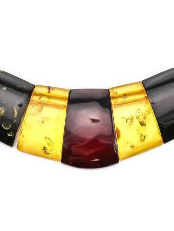 Колье из натурального балтийского янтаря «Египет», фото , изображение 4