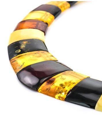 Колье из натурального балтийского янтаря «Египет», фото , изображение 3