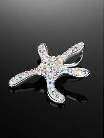 Необычная подвеска со стразами в форме морской звезды Jungle, фото , изображение 2