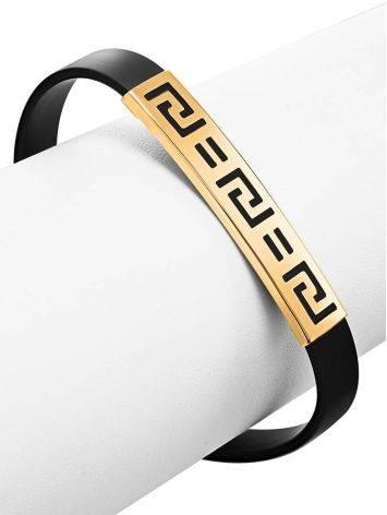 Золотой браслет в стиле унисекс, фото , изображение 3