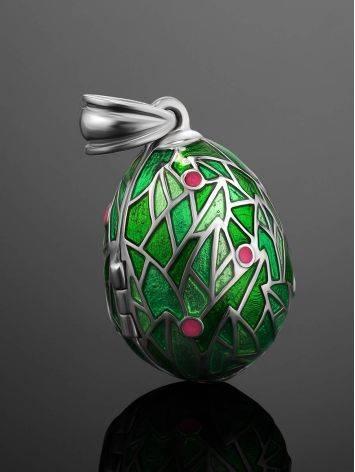 Яркое яйцо-шарм с птичкой-сюрпризом Romanov, фото , изображение 2